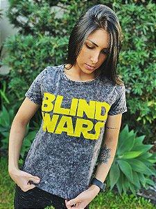 Camiseta Feminina Blind Wars Sky