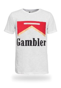Camiseta Feminina Cigar Gambler Flamê