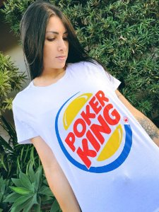 Camiseta Feminina Poker King