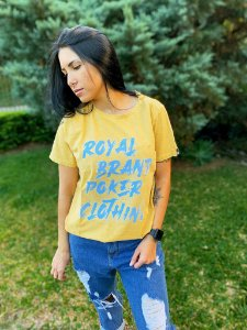 Camiseta Feminina Royal Poker Clothing