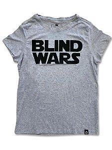Camiseta Feminina Blind Wars Mescla