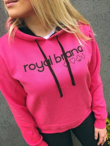 Moletom Feminino Royal Suits Pink
