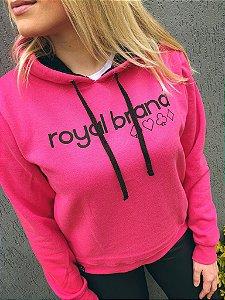 Moletom Feminino Royal Suits Pink