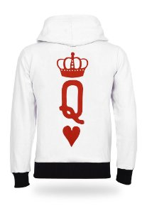 Moletom Valentine Queen White