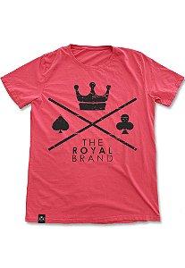 Camiseta Royal Signature Logo Vermelho