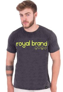 Camiseta Royal Brand Suits Neon