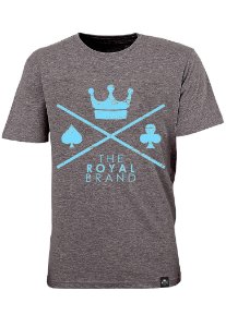 Camiseta Royal Signature Logo Mescla
