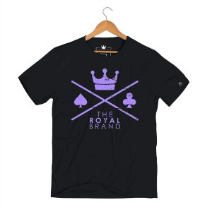Camiseta Royal Signature Logo Roxo