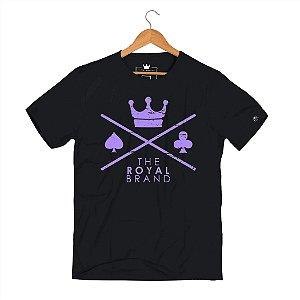 Camiseta Royal Signature Logo Roxo