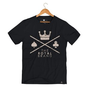 Camiseta Royal Signature Logo Gold
