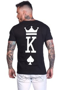 Camiseta Valentine King Black