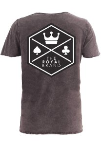 Camiseta Royal Signature Back Logo Marmorizado