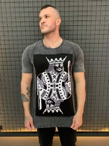 Camiseta Black King Sky