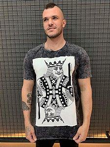 Camiseta White King Sky