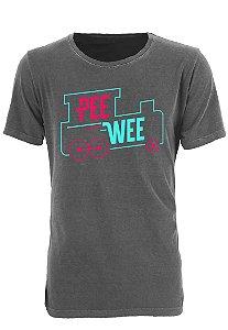 Camiseta Canal PeeWee Cinza Estonado