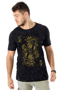 Camiseta Golden Skull King