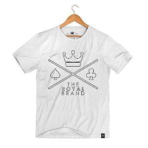 Camiseta Royal Logo Empty Branco