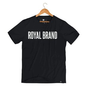 Camiseta Royal Signature Classic Black