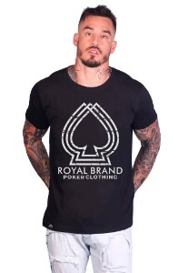 Camiseta 3D Spade Preto