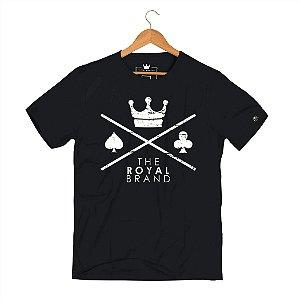 Camiseta Royal Signature Logo Classic Black