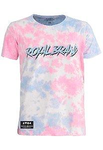 Camiseta Royal Shadow Tie Dye Pink