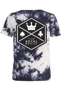 Camiseta Royal Signature Back Logo Tye Die