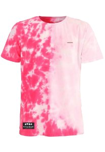 Camiseta Royal Label Tie Dye Rosa