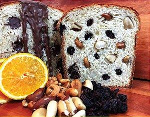 Panetone - Bacalhau com azeitona preta