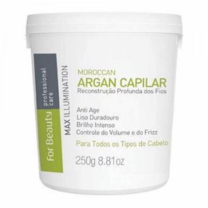 Botox Capilar For Beauty Max Illumination Argan Oil 250g