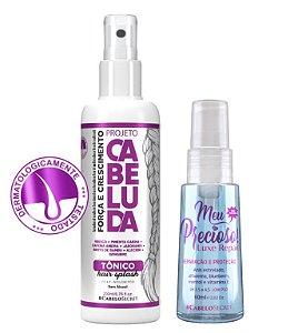 Tônico Hair Splash Projeto Cabeluda 200 ml + Meu Precioso 60 ml