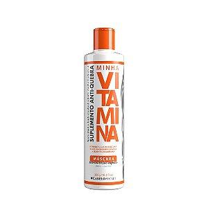 Minha Vitamina - Suplemento Capilar Anti-Quebra - Máscara Hidronutritiva 300 g