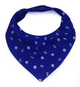 Babador Bandana com Estampa Navy Super Comfort Royal