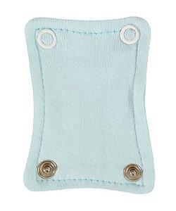 Extensor de Body com 2 botões Azul Bebê