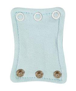 Extensor de Body com 3 botões Azul Bebê