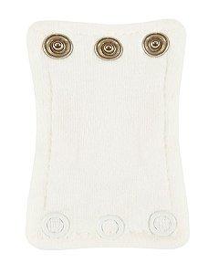 Extensor de Body com 3 botões Branco