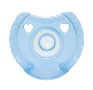 Chupeta de Silicone Soft Comfort Kuka Azul Fase 1 (0 a 6 meses)