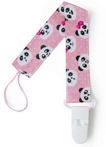 Prendedores de Chupeta Panda