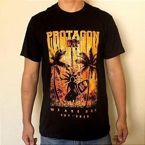 Camiseta Protagon Surfista