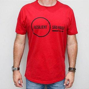 Camiseta Classic Resilient SP Vermelha