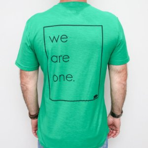 Camiseta Flamê Slim We Are One Verde