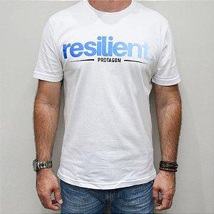 Camiseta Slim Resilient Degradê