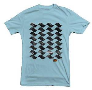 Camiseta Calçada SP Azul