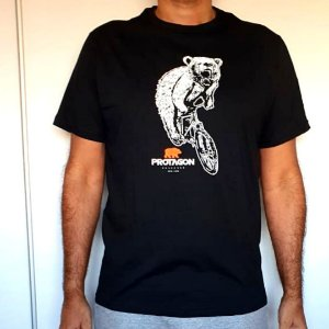Camiseta Protagon Urso Bike