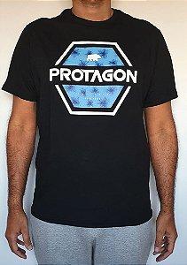 Camiseta Protagon Hexágono