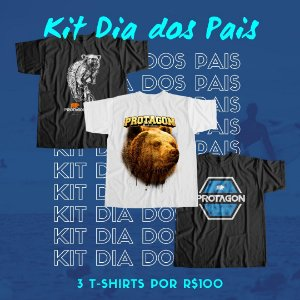 Kit Camisetas 03