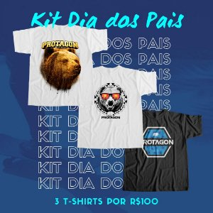 Kit Camisetas 06