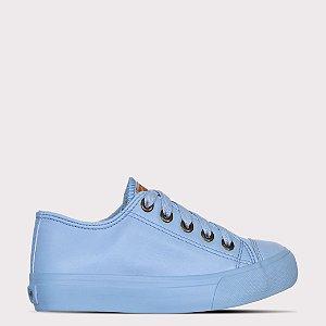 Tênis Capricho Like Class Monocolor Sintético - Azul