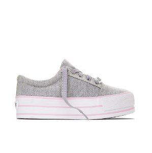 Tênis Capricho Break Platform Canvas - Moletom