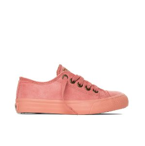 Tênis Capricho Like Suede - Coral