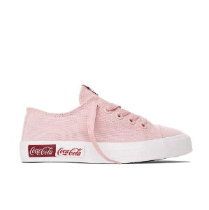 Tênis Coca-Cola Basket Blend Canvas - Rosa